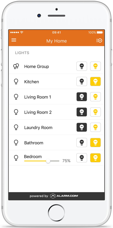 smart lighting phone app