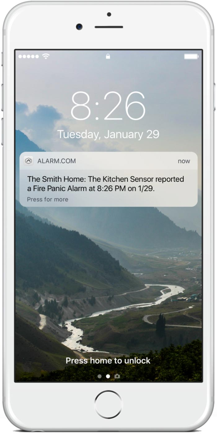 smoke detectors phone app