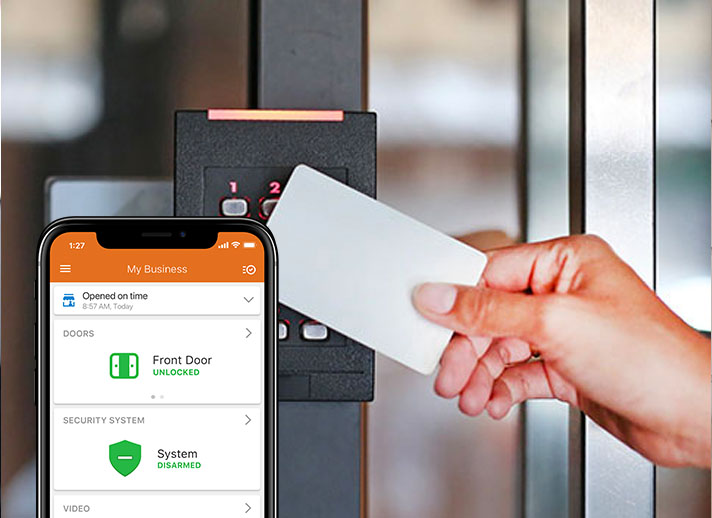 Smart access control keycard and app
