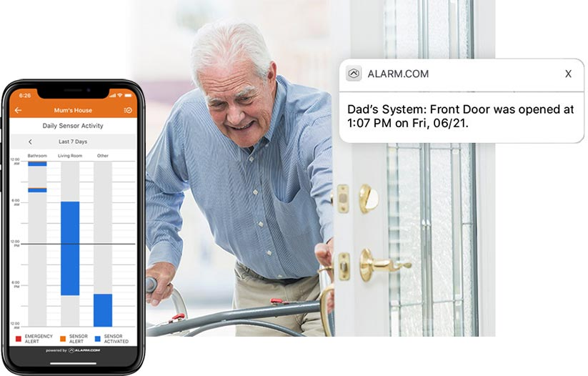 disability aged care activity monitoring software