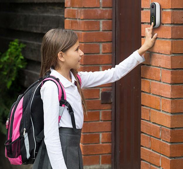 video doorbell in action